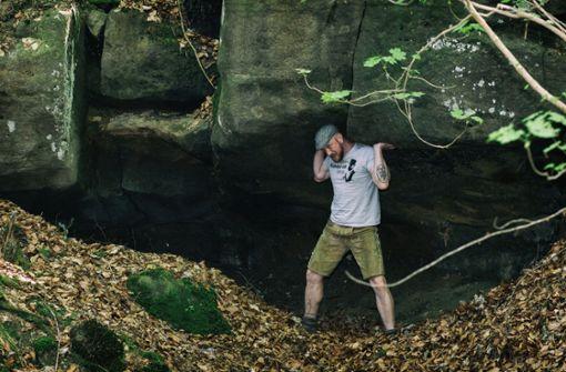 Der Waldschrat trotzt dem Gegenwind