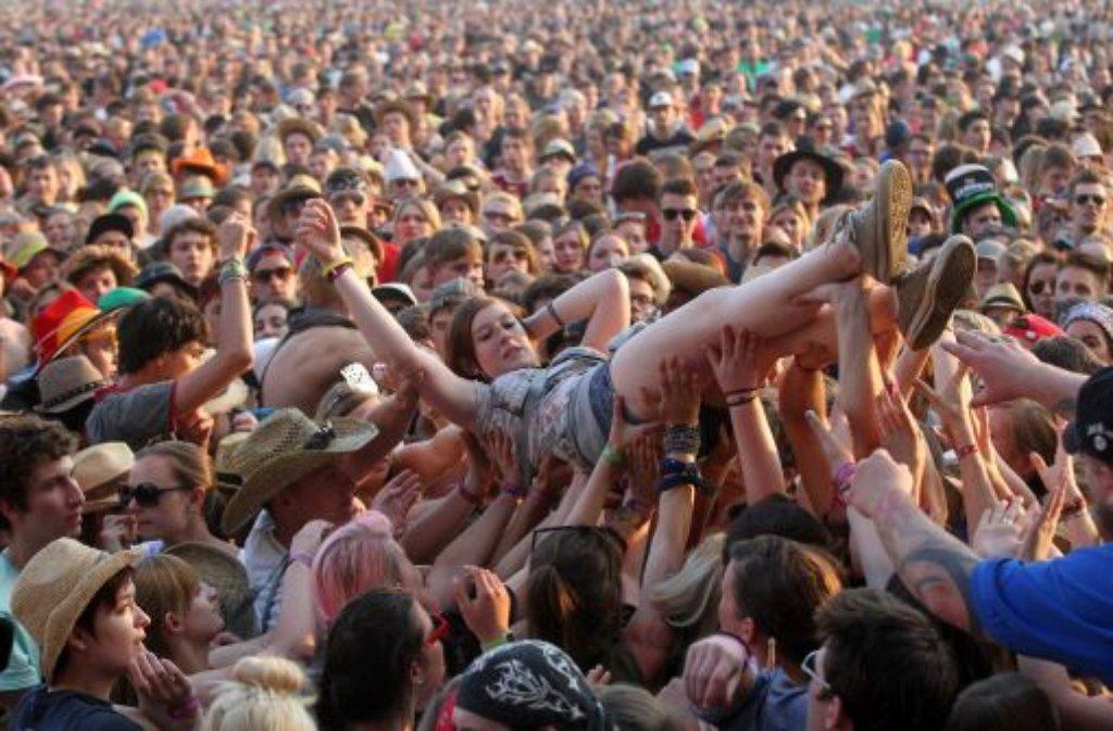 Rock am Ring ist Kult - wo gefeiert wird, ist da eigentlich egal. Foto: dpa