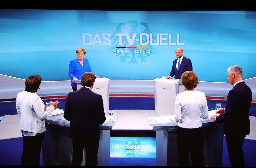ARD und ZDF wollen eigenes TV-Duell