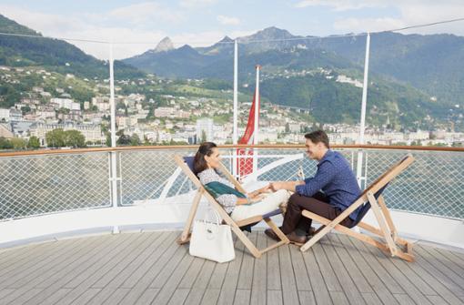 Schifffahrten auf dem Genfersee