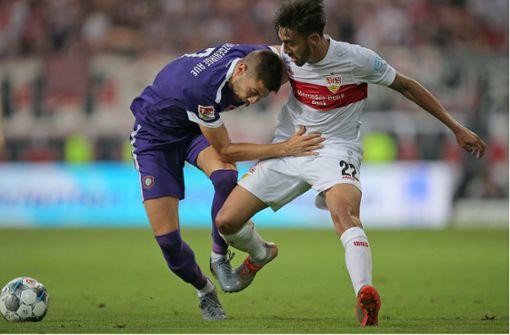 Liveticker zum Nachlesen: VfB-Sieg gegen Lustenau im Elfmeterschießen