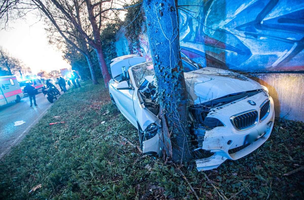 Der Unfall ereignete sich in Stuttgart-Mühlhausen. Foto: 7aktuell.de/Simon Adomat