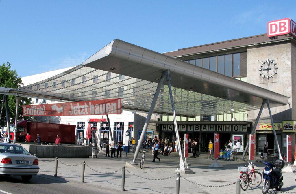 Die Bauarbeiten am Ulmer Hauptbahnhof dauern an. (Symbolbild) Foto: dpa