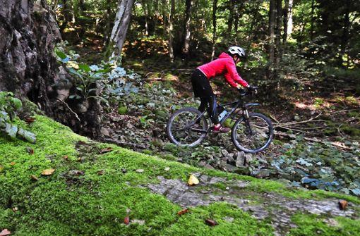 Schönbuch schafft Strecken für Mountainbiker