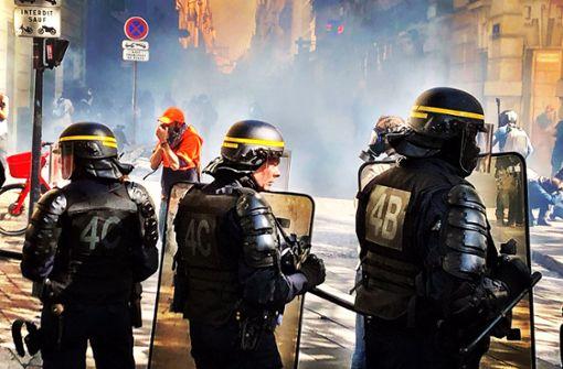 """Mehr als 150 Menschen bei """"Gelbwesten""""-Demos festgenommen"""