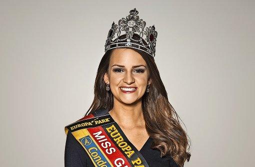 Promis wählen die Miss Stuttgart
