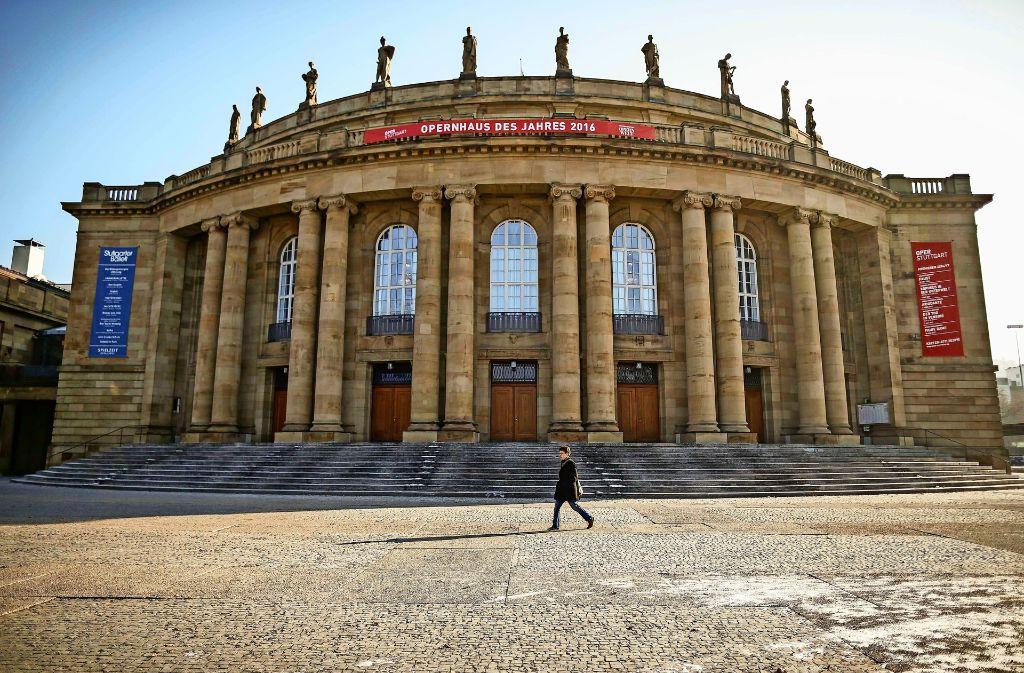 Wie geht es weiter mit der Oper? Die Stuttgarter SPD hatte zu einer Podiumsveranstaltung geladen. Foto: dpa