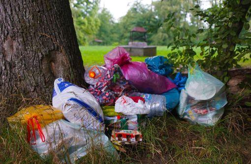 Müll auf der Grillwiese ist für die Stadt teuer