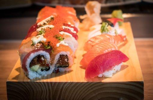 Neue Sushi-Bar bei Böhm