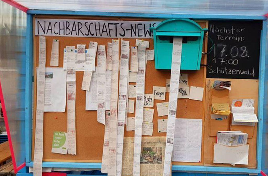 Ein Social-Media-Briefkasten des Anwohnervereins am Schützenplatz will sichtbar machen, was auf Netzwerken über das Kerneviertel kursiert. Foto: privat