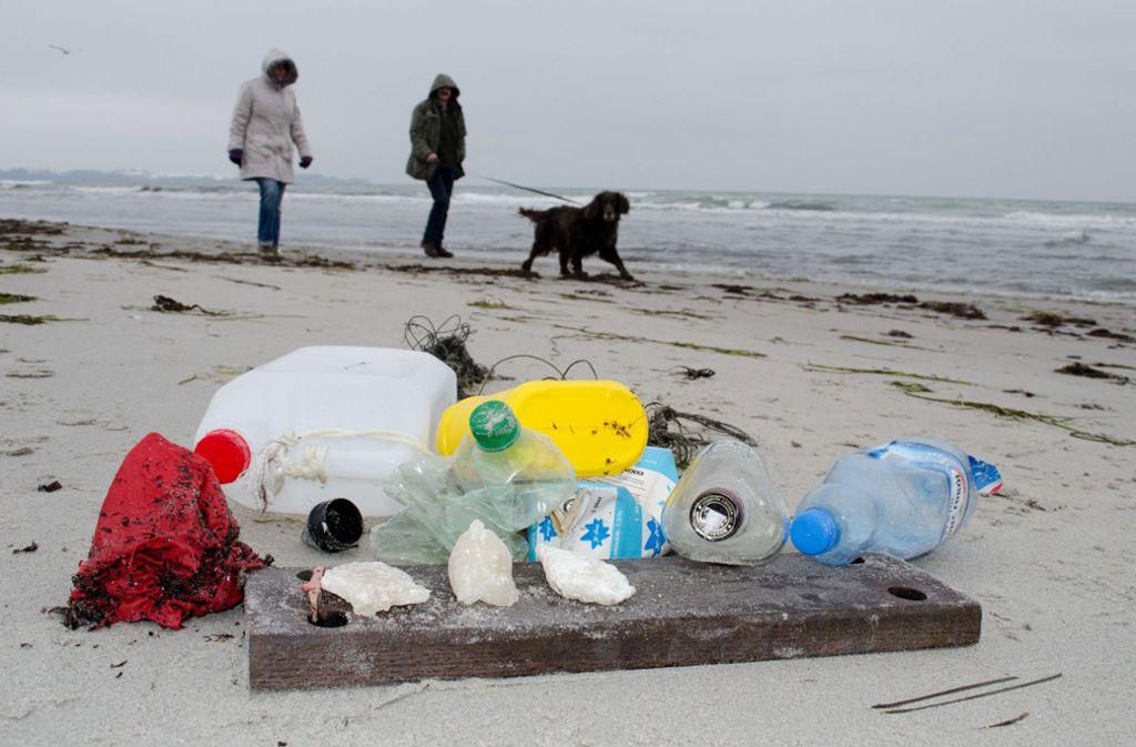 Plastikmüll ist weltweit ein Problem. Foto: dpa