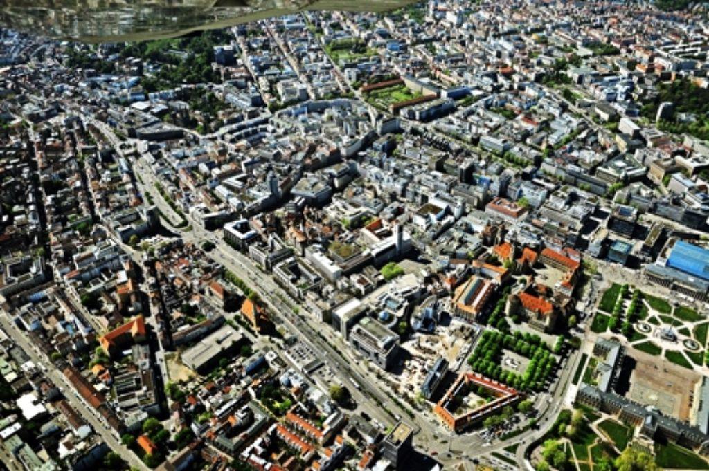 Vier Themenfelder zur Zukunft der Stadt werden beim StZ-Kongress diskutiert. Foto: Storck