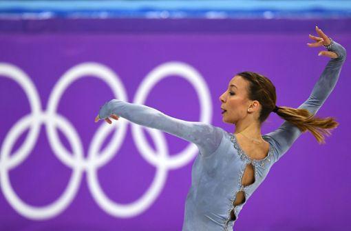 """Erstes Gold für Russen – Nicole Schott tanzt zu """"Schindlers Liste"""""""