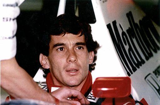 Ayrton Senna und unvergessene die Tragödie von Imola
