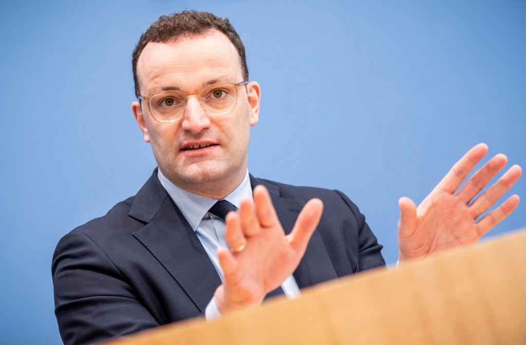 Die Stuttgarter Kliniken üben an Spahns Krankenhausentlastungsgesetz Kritik. Foto: dpa/Michael Kappeler