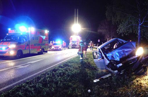 18-Jährige bei Verkehrsunfall schwer verletzt