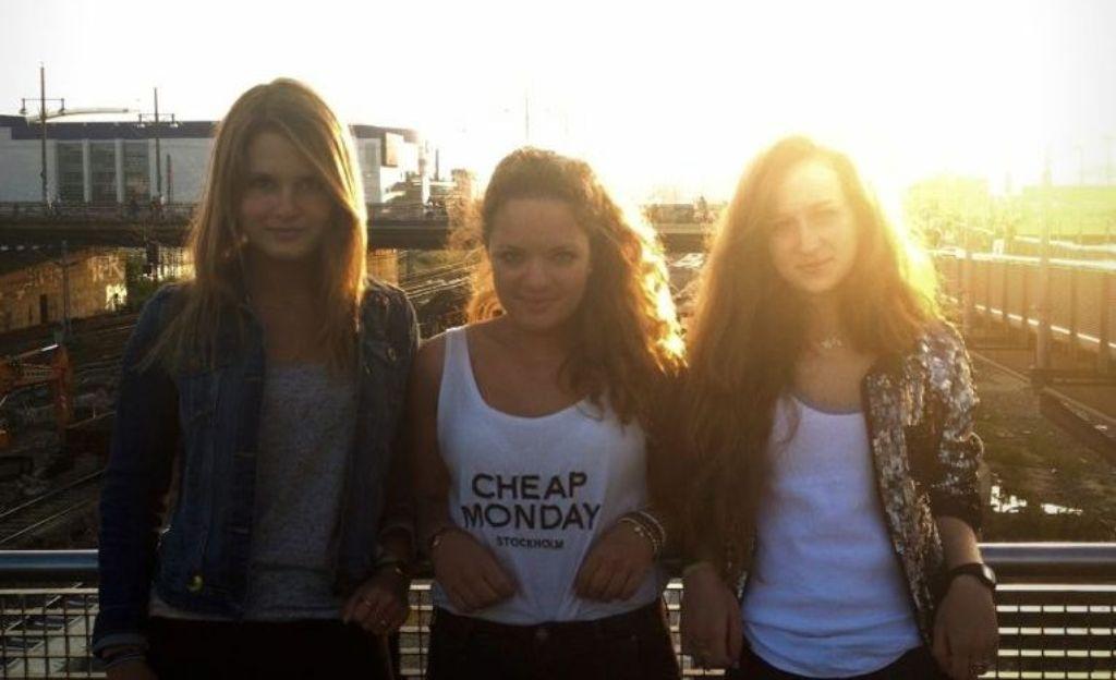 Waren im vergangenen Jahr zum ersten Mal dabei: Anna, Shirin, Lara. Foto: StZ