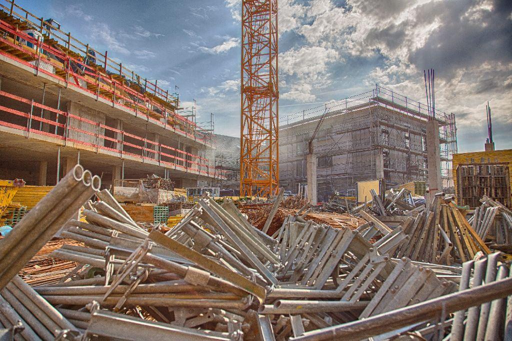 Die Neue Mitte von Botnang im Juni - Bilder der Baustelle gibt es hier. Foto: www.7aktuell.de | Frank Herlinger