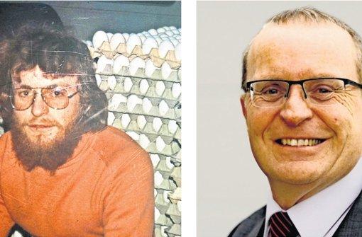 Thomas Reusch-Frey beim  Zivildienst und heute Foto: privat, factum/Weise