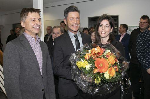 Rainer Haußmann heißt der alte und  neue  Bürgermeister