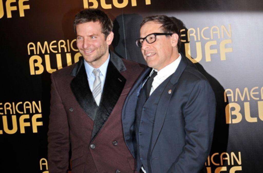 Hauptdarsteller Bradley Cooper (links) und Regisseur David O. Russell Foto: Getty Images Europe