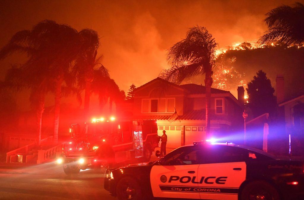 Waldbrände im Norden Kaliforniens forderten mindestens zehn Tote. Foto: dpa