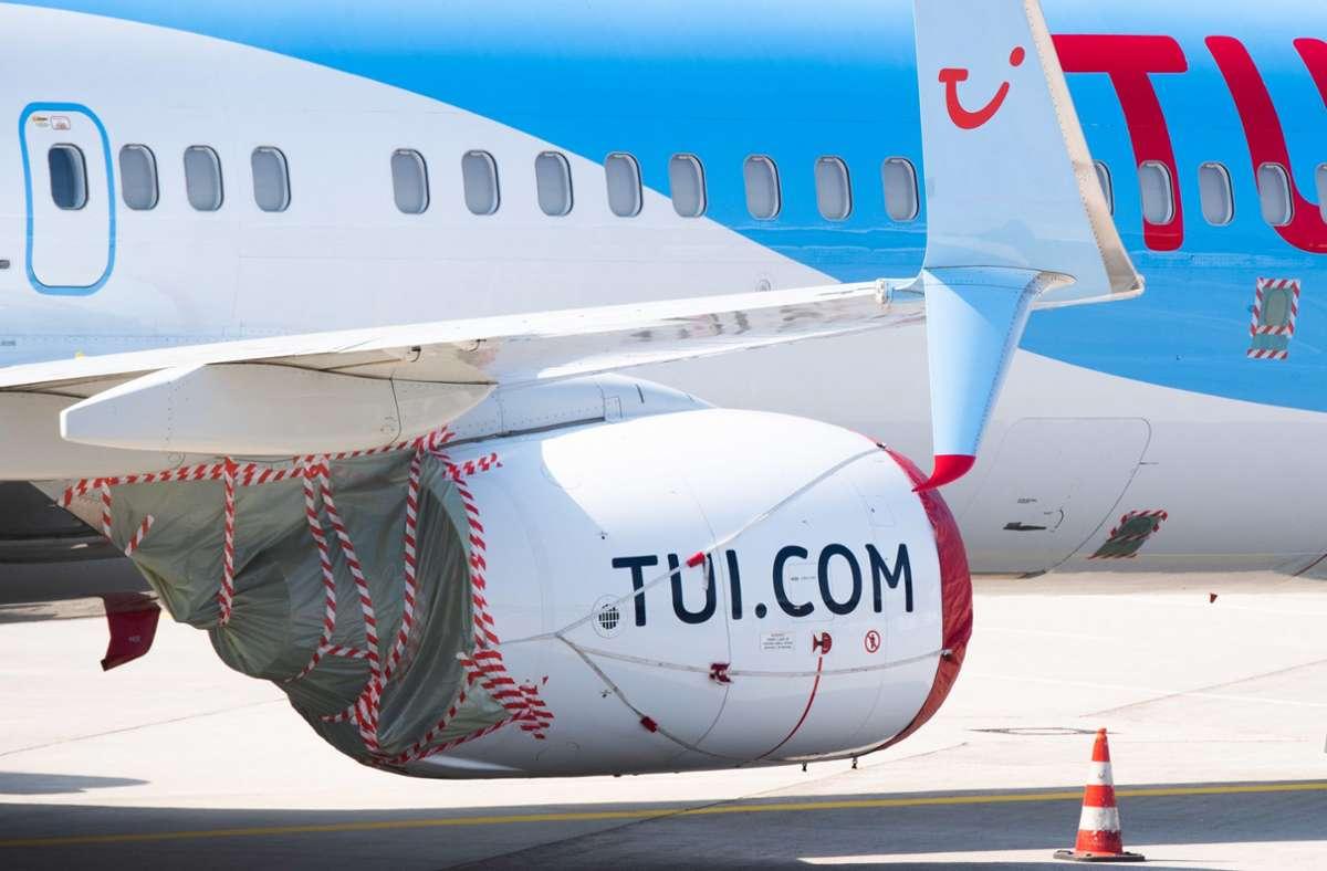 Tui gehört zu den von Corona besonders hart getroffenen Firmen. Foto: dpa/Julian Stratenschulte