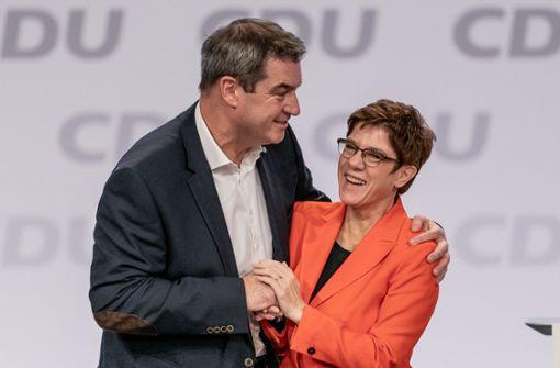"""""""AKK"""" warnt vor der Kanzlerkandidatur-Debatte"""