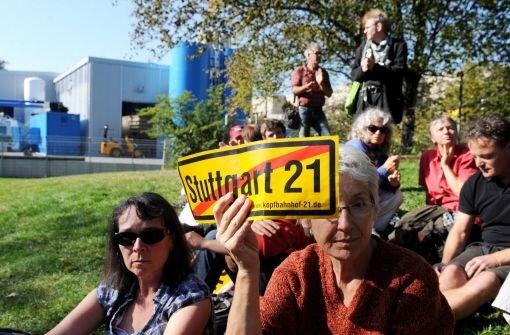 Die Staatsanwaltschaft soll die Namen von Personen verraten haben, die gegen Stuttgart 21 geklagt haben. Foto: dpa