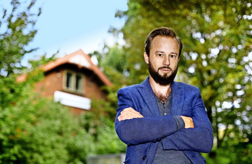 Johann Reißer  beschäftigt sich mit den  Spannungen zwischen ländlichem Raum und Industrie. Foto: Horst Rudel