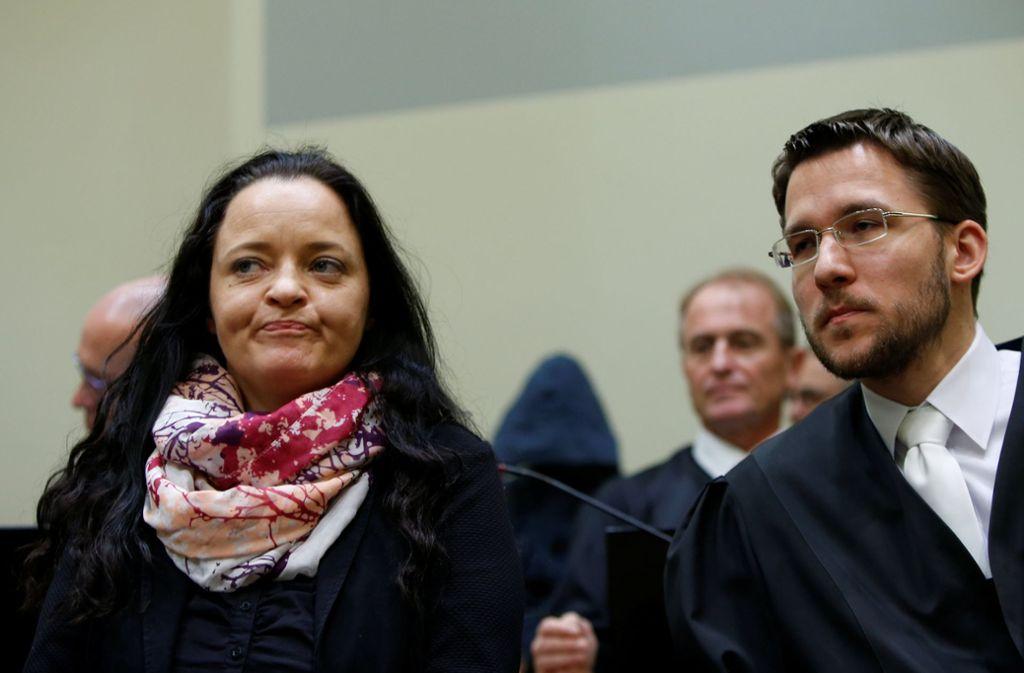 Beate Zschäpe erwartet laut Oberlandesgericht München keine Sicherungsverwahrung im Anschluss an ihre Haftstrafe. Foto: POOL