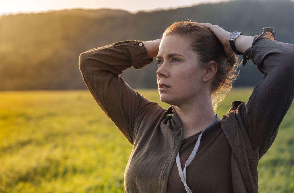 """""""Arrival"""" handelt also nicht vom Kämpfen, sondern von Nachdenken – übers Fremdsein wie übers Menschsein.  Foto: Sony Pictures"""