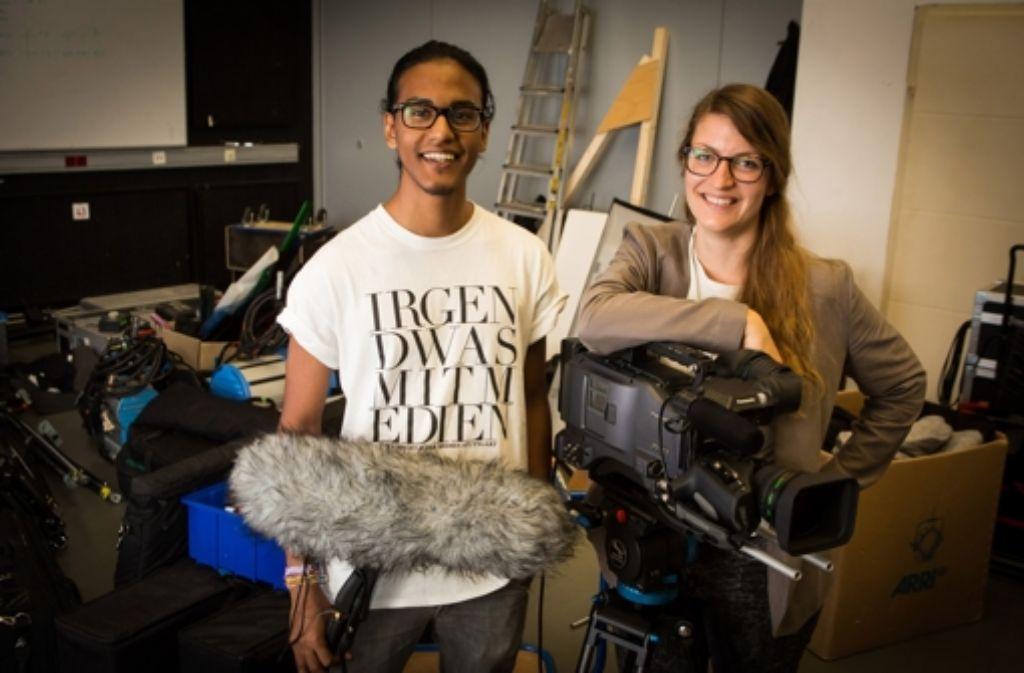 Thay Putra und Diana Schmidt haben an den Filmen mitgearbeitet. Foto: Achim Zweygarth