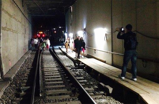 S1 in Tunnel vor Hauptbahnhof evakuiert