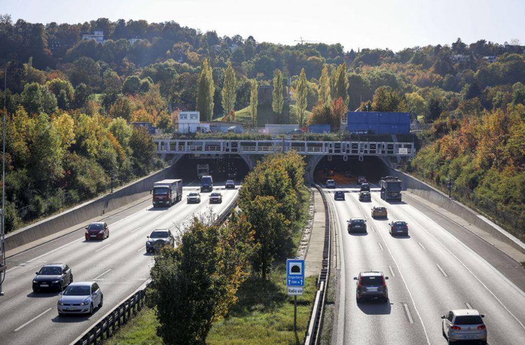 Die Vorbereitungen für die Tunnelsanierung laufen. Foto: factum/Archiv
