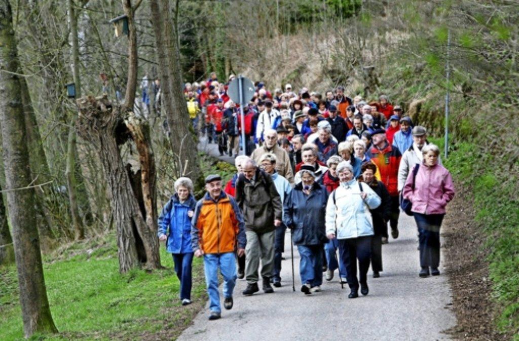 Die Route durch das Höfinger Täle ist bei der Herzwanderung beliebt. Foto: factum/Archiv