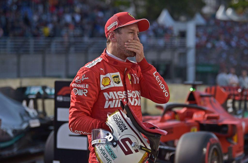Sebastian Vettel war bei Ferrari oft nicht glücklich. Foto: AFP/Carl de Souza
