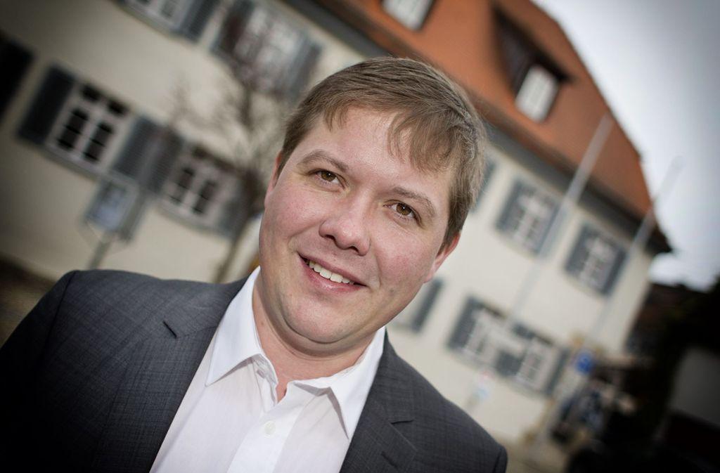 Ferdinand Rentschler wird auch in den kommenden acht Jahren die Geschicke der Gemeinde Lichtenwald lenken. Foto: Horst Rudel