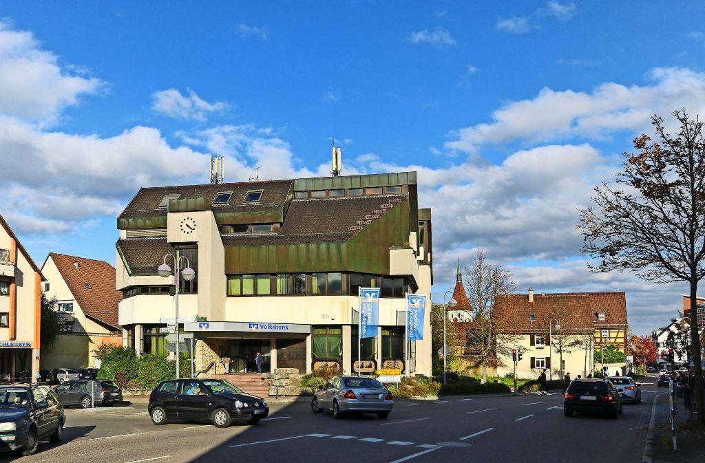 Das Bankgebäude soll einem Neubaukomplex weichen. Foto: factum/Granville