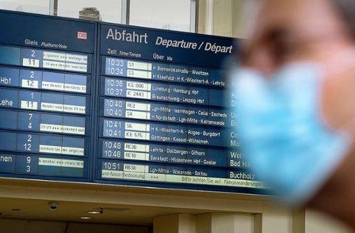 Deutsche Bahn  bietet wieder mehr Plätze an