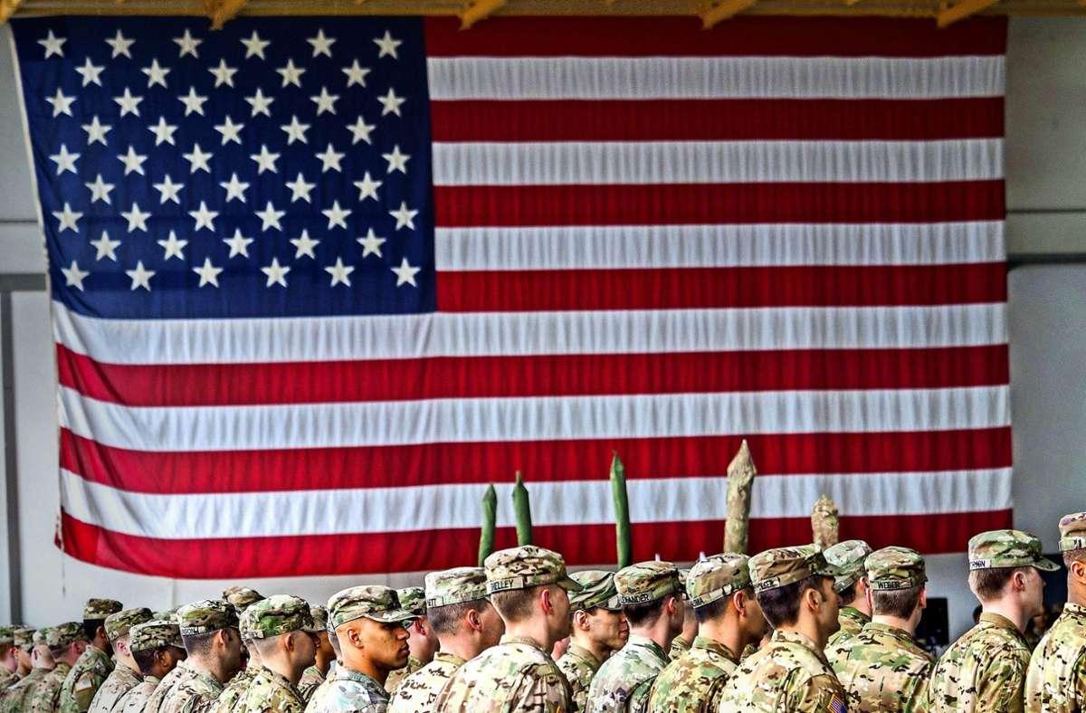 Die US-Soldaten und ihre Familien gelten als Wirtschaftsfaktor im Südwesten. Foto: dpa/Nicolas Armer