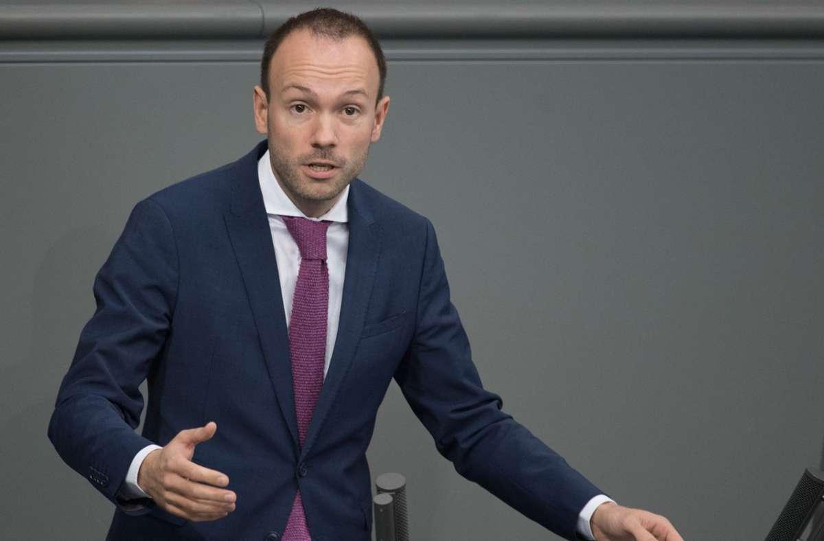 Der CDU-Politiker Nikolas Löbel. Foto: dpa/Jörg Carstensen
