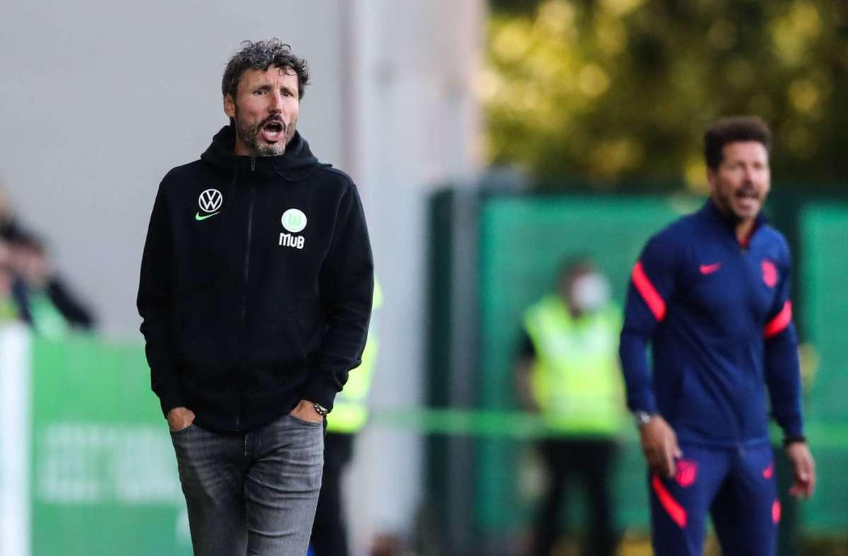 Früher als Spieler des FC Bayern München, heute als Trainer beim VfL Wolfsburg: Mark van Bommel. Foto: imago/Christian Schroedter