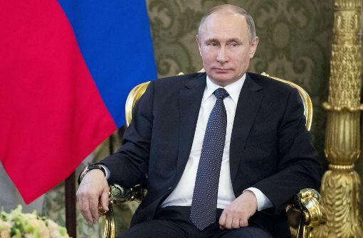 """Putin warnt vor """"Provokationen"""" mit chemischen Waffen"""