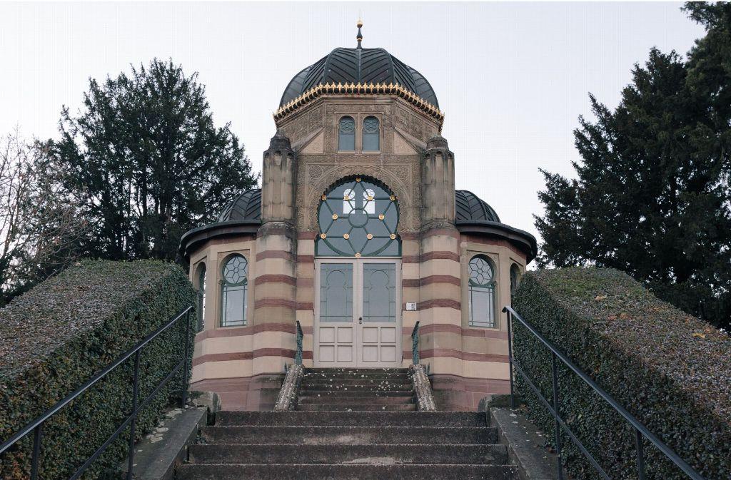 Beim Flanieren sticht das Gebäude am Rosensteinhang den Besuchern ins Auge, betreten dürfen sie es jedoch nicht. Foto: Lichtgut/Verena Ecker