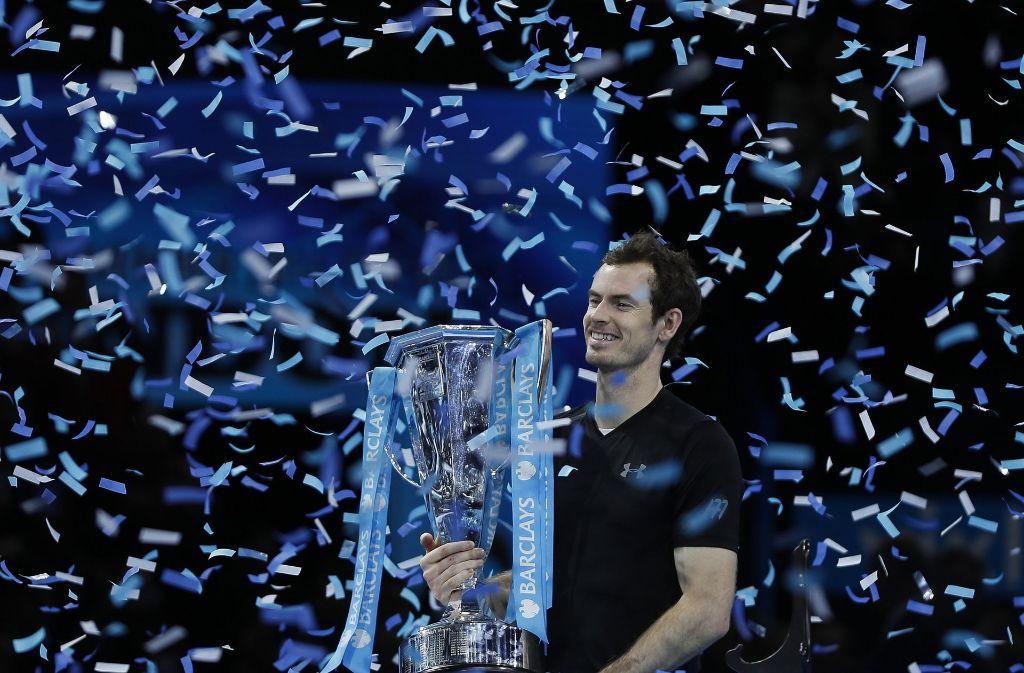 Andy Murray hat in London eindrucksvoll bewiesen, wer die Nummer eins der Tenniswelt ist. Foto: AP