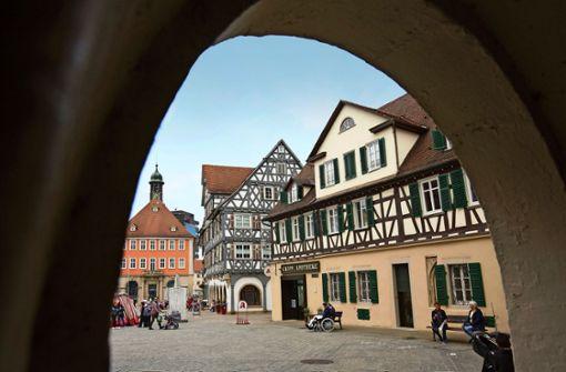 Frischzellenkur für  Schorndorfer Altstadt-Fassaden