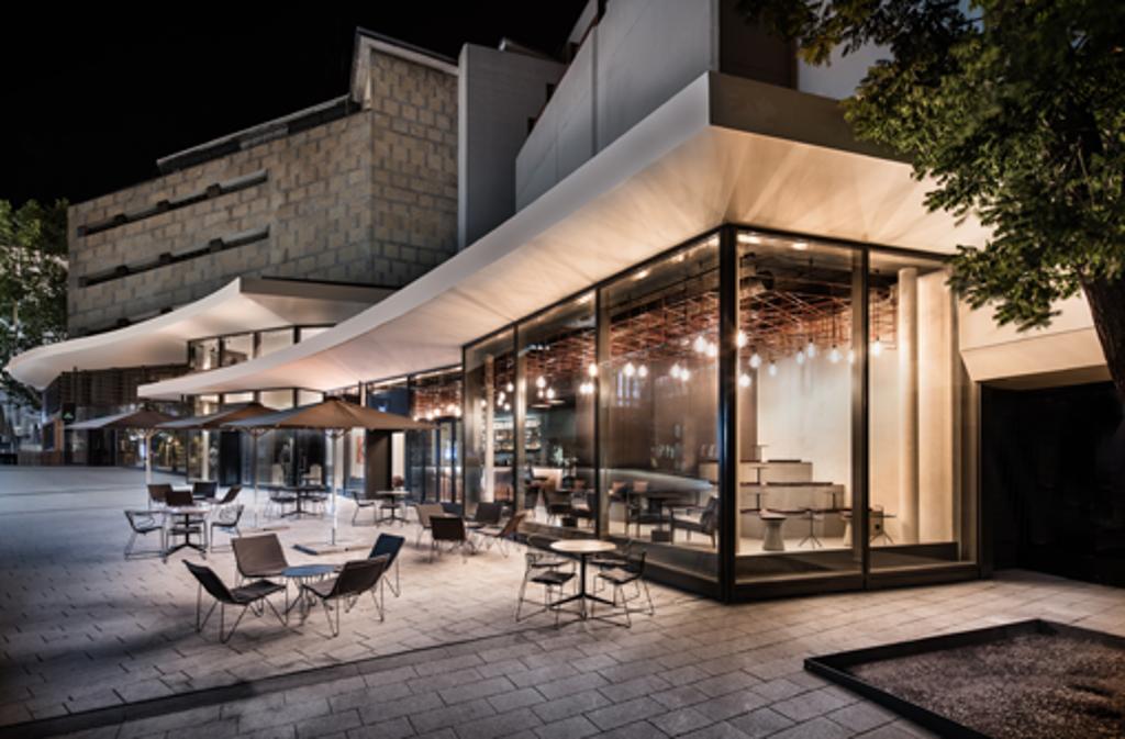 Das Eduard's - die Lifestyle-Bar in Stuttgart. Foto: Dittel Architekten