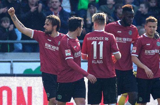 Harnik schießt Hannover 96 näher an den VfB
