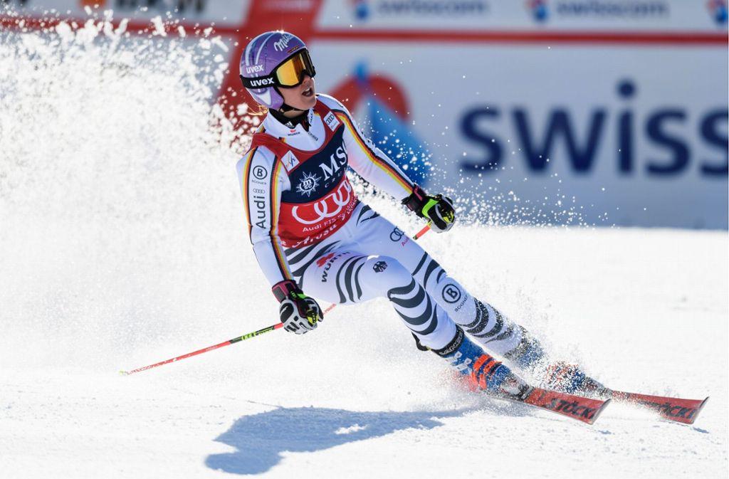 In diesem Winter sehr erfolgreich: Viktoria Rebensburg Foto: AFP